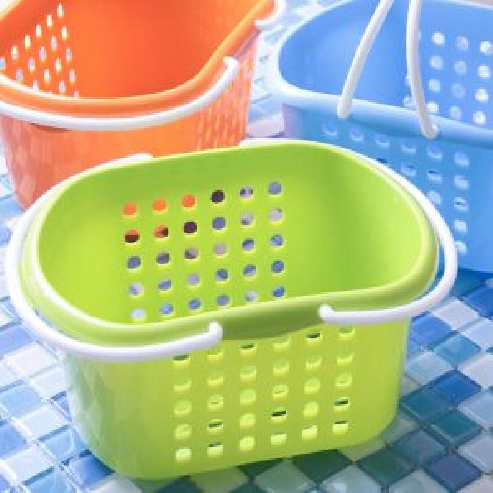 190GOMALL_AAU_0001776 웨이브 항균 목욕 바구니 욕실정리바구니 플라스틱욕실바구니 욕실바구니 미니욕실바구니 욕실용바구니 (POP 1568939077)