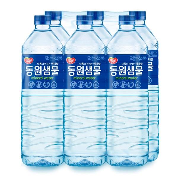 동원 생수 샘물 2L 6입, 24개