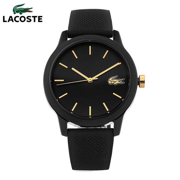 라코스테(시계) LACOSTE 라코스테 2001064 12.12 여성용 블랙 실리콘 시계 36mm