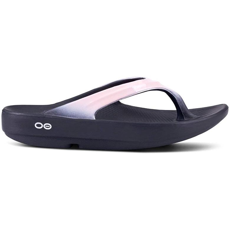 OOFOS 샌들/슬리퍼 Metallic Blush (미국 정품 직구)