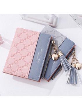소녀 부피 작은 지갑 2할인 카드 지갑 지갑 핸드백 동전 가방