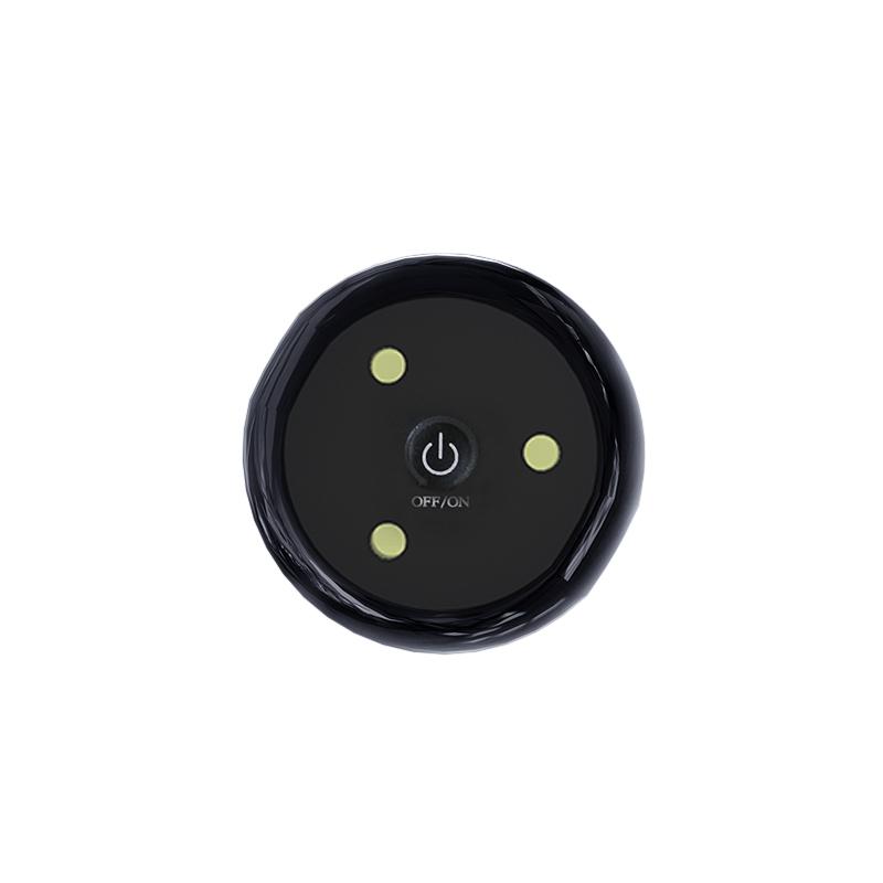 LED 화장실 소독 램프 자외선 램프 화장실 살균 램프 가정용 화장실 스마트 화장실 탈취, 검정