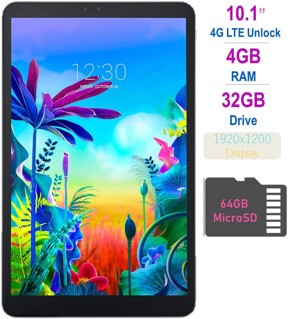 LG G Pad 5 10.1-inch (1920x1200) 4GB LTE Unlock Tablet Qualcomm MSM8996 Snapdragon Processor 4GB RAM 32GB Storage Bl-B08B7TXLDN, one size, one color