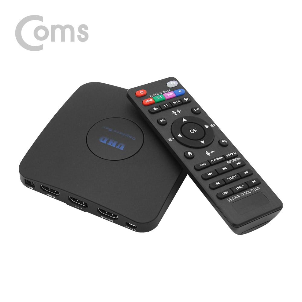 컴스 HDMI 캡쳐 HD 4K2K PC 저장기능 동영상 녹화 CV173
