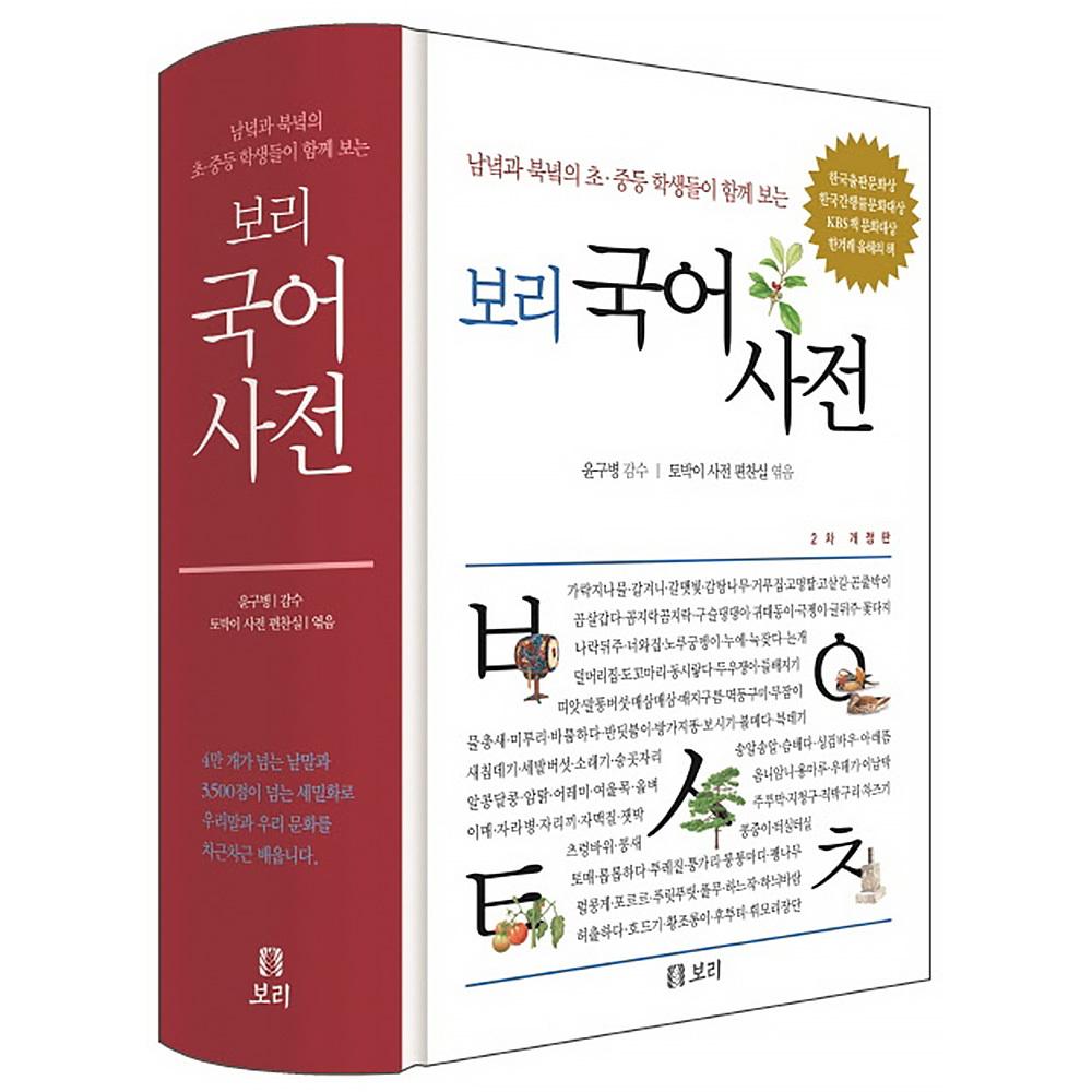 보리출판 보리 국어사전 2021년 최신판 (마스크제공), 단품