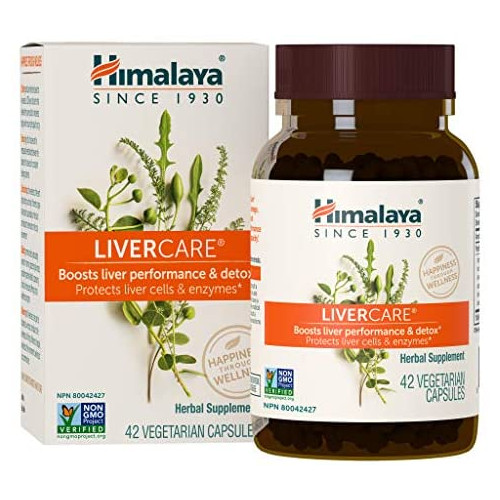 밀크시슬 Himalaya LiverCare/Liv. 52 for Liver Cleanse and Liver Detox 375 mg 180 Capsules 90 Day Supply, 본문참고, 옵션 3 Size = 42 Count