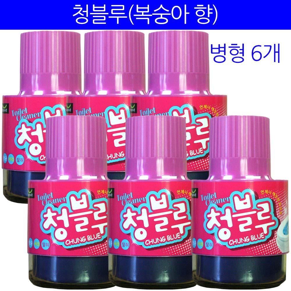 청블루 변기세정제, 180g, 6개 (POP 152128939)