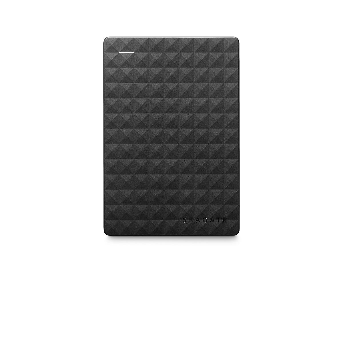 씨게이트 포터블 드라이브 익스팬션 USB 3.0 라이트웨이트 휴대용 외장하드, Black, 2TB