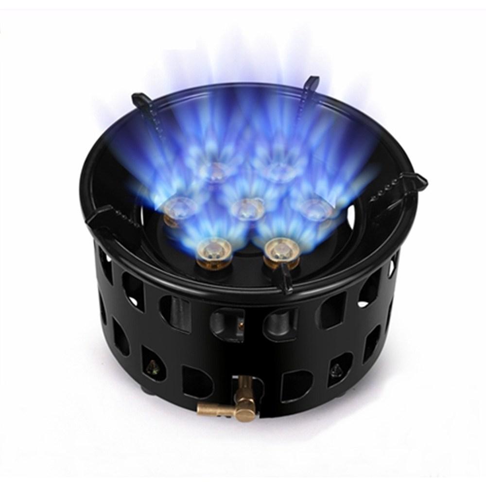 고출력 대륙 강염버너 가스 스토브 강력 화력 LPG 부탄 가스 버너, 옵션1)강염버너