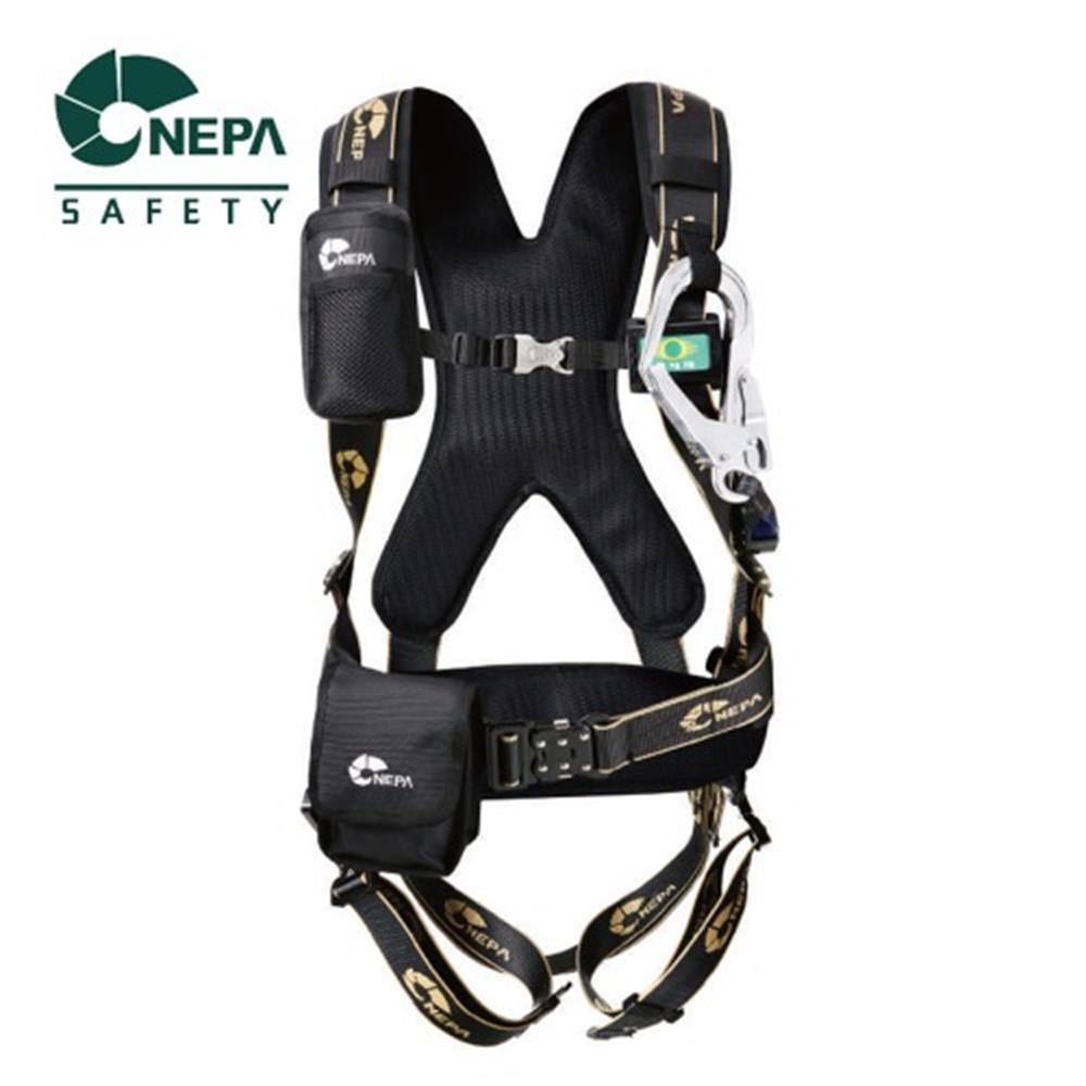 NEPA 전체식 현장 안전벨트(릴자동) 추락방지 극한작업 (POP 5500157474)