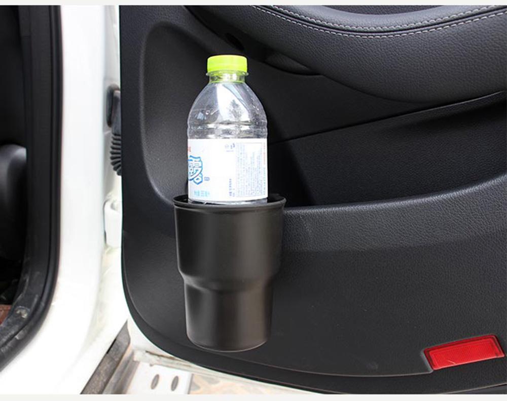 1+1 다용도 컵홀더 차량용 상자 다기능 저장 버킷 자동차용품, 블랙