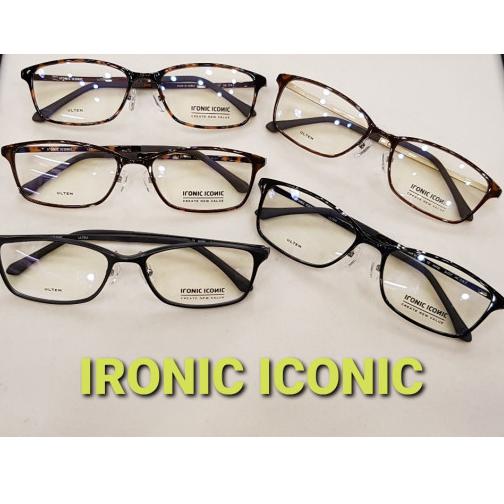 아이로닉아이코닉(ironiciconic) 프랭크커스텀st IN6720 5가지 컬러 모음집 코가편한안경 코눌림적은안경 고탄성 울템 뿔테안경 얼큰이안경 초경량
