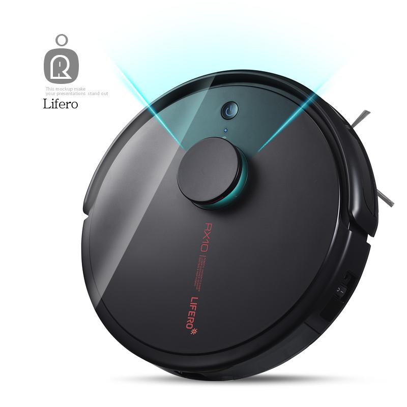 [LIFERO] 라이프로 RX10 파티션분할 로봇청소기 물걸레 LDS센서, 로봇청소기RX10(블랙)