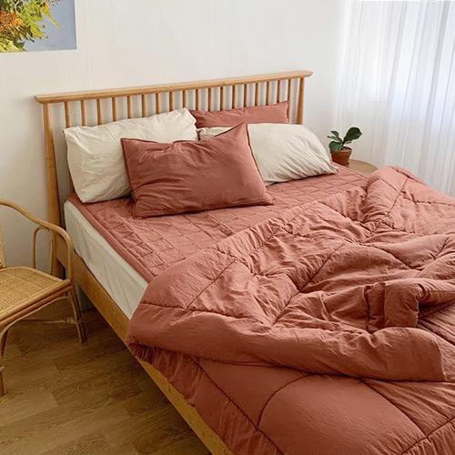 레이디가구 스칸딕 로맨틱 핀란드 원목 침대 SS Q 슈퍼싱글 퀸, 내추럴