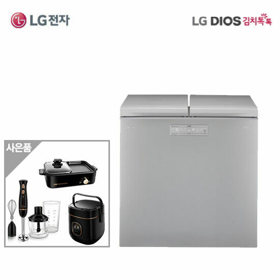 LG DIOS 김치톡톡 김치냉장고 K225SS12E, 단품 (POP 5035619105)