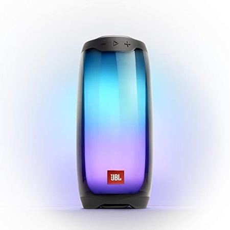 스피커 JBL Pulse 4 Waterproof Portable Bluetooth Speaker with Light Show - Black (JBLPULSE4BLKAM) P, 상세 설명 참조0