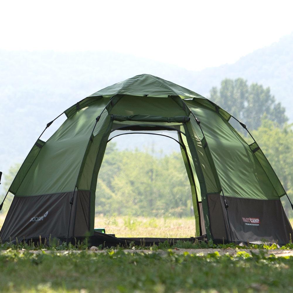 패스트캠프 오토6 원터치 자동 텐트, 올리브그린, 5인
