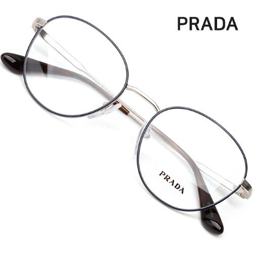 프라다 명품 안경테 VPR52V-2601O1 동그란 가벼운안경