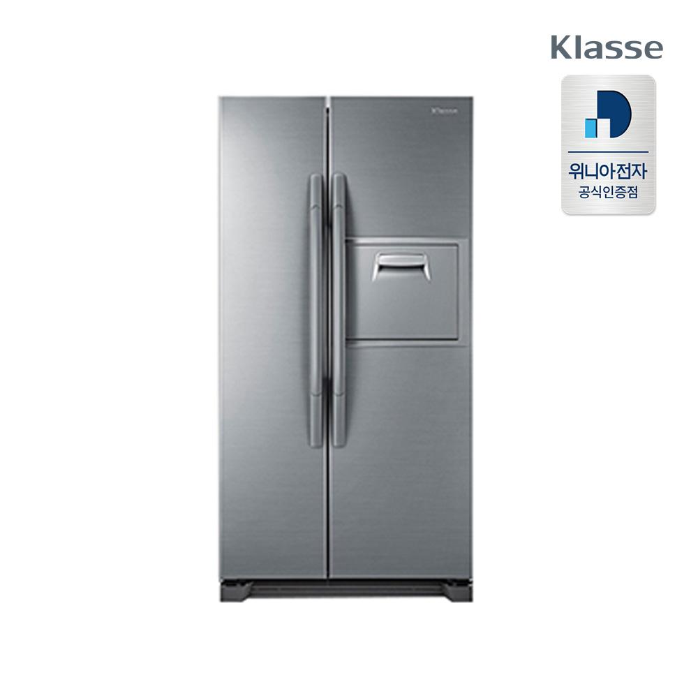위니아전자 클라쎄 양문형 냉장고 FR-S552SRESE 550L