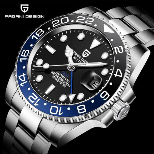 파가니 디자인 - 아날로그 시계 실물깡패 GMT 다이버시계 / PD - 1662