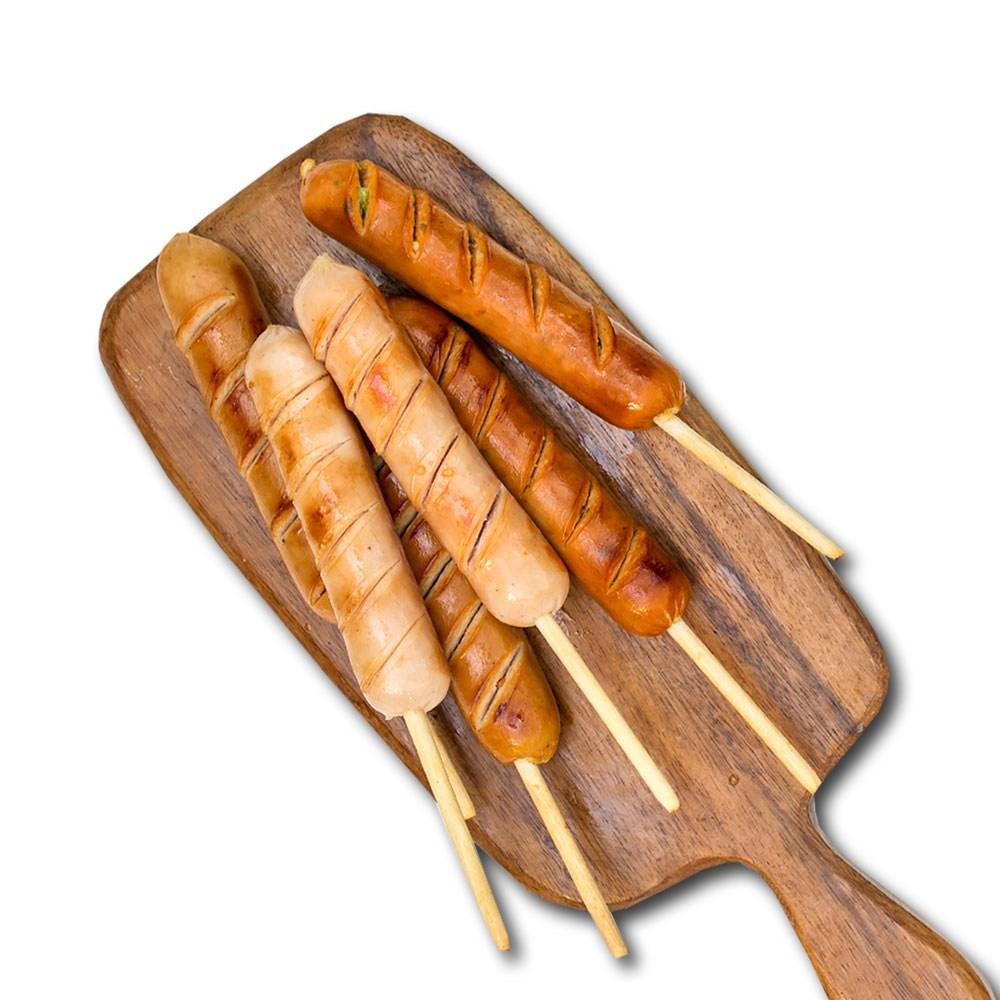 오쿡 닭가슴살 소세지 핫바 6종 20+2팩, 07.핫바 혼합 6종 70g 20+2팩