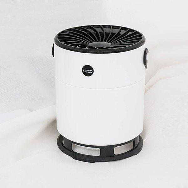레토 USB 휴대용 UV LED 모기퇴치기 + 해충박멸 7중날개 360도 강력한 흡입력 여름필수템