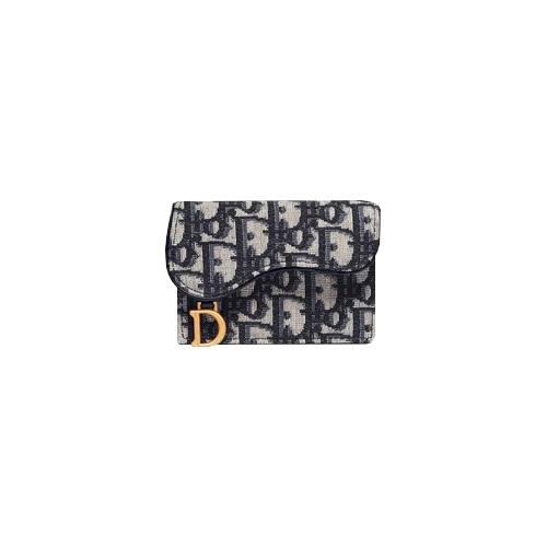디올 [당일 백화점AS가능]디올 오블리크 새들 카드지갑 S5611CTZQ