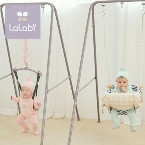 [텐바이텐] 라라비 스윙점퍼 풀세트 아기 그네 변신 점퍼루 쏘서, 라라비스윙점퍼풀세트,(당일발송)시슬리핑크