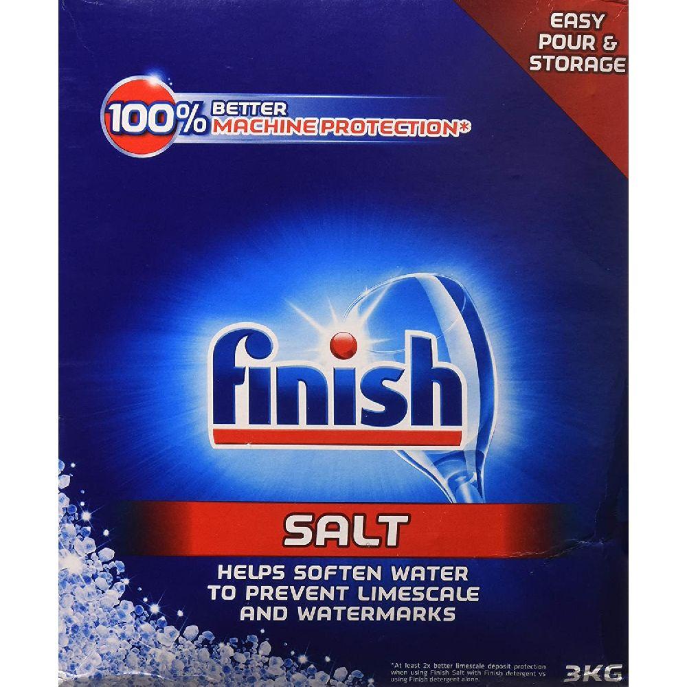 Finish 피니쉬 식기세척기 연화제 소금 2994g, 1
