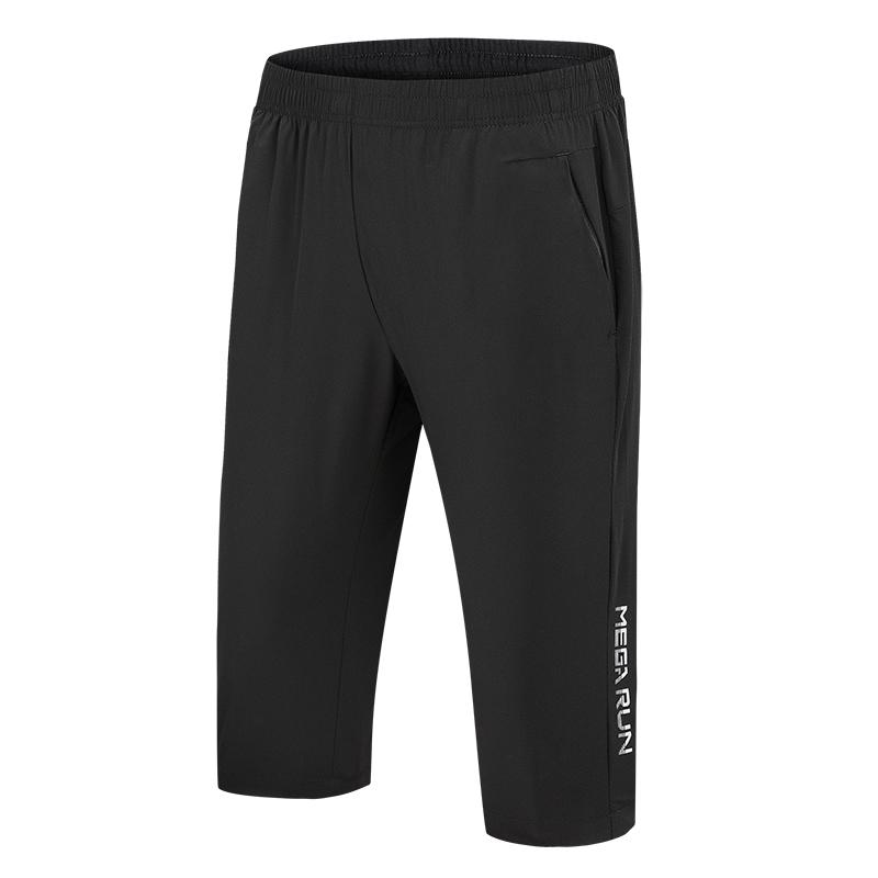 남자7부반바지 운동 7부바지 루즈핏 오버사이즈 빠른건조 여름 얇은타입 여성스판 통기성 아우터 승마바지 남자단발 팬츠 바지