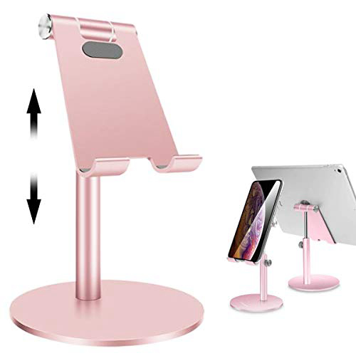 VAVCASE Tablet/Phone Stand Universal Multi-Angle Height Adjustable Stand Aluminum Desktop Stand Ho, 1