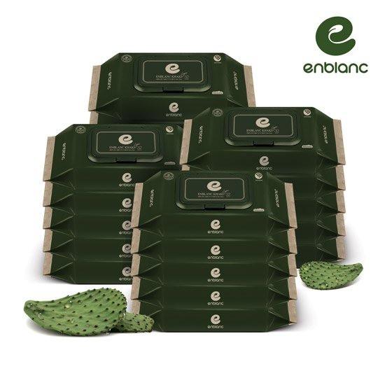 앙블랑 아기물티슈 카키 라이트 캡형 32매X20팩 KT20, 32매, 20팩