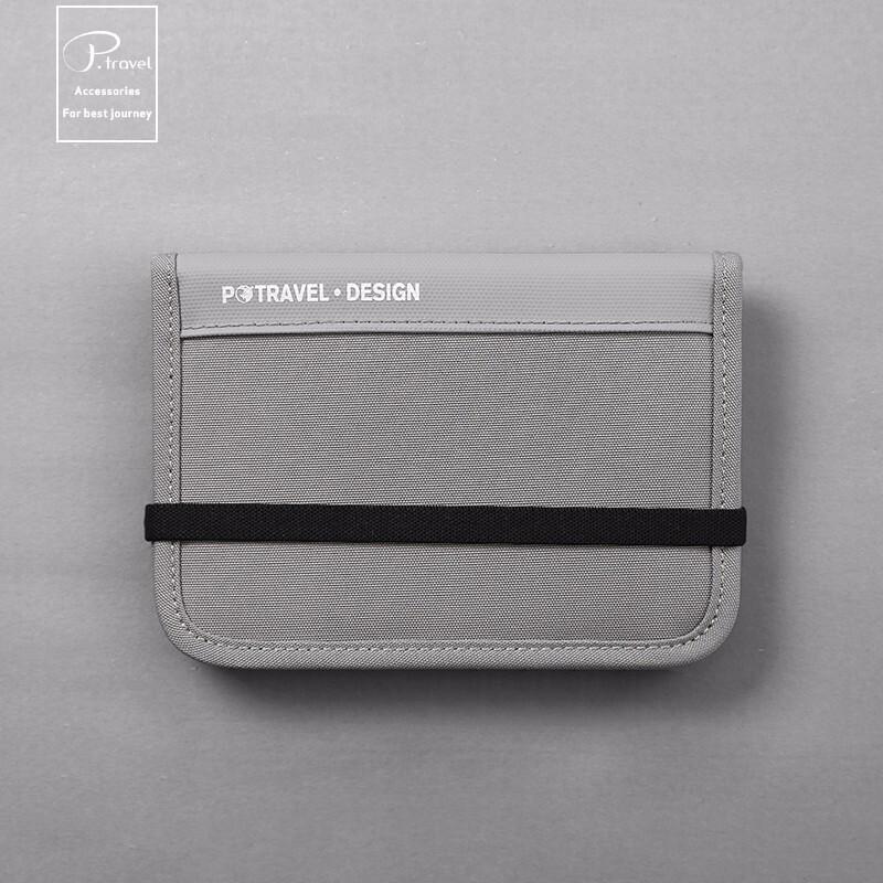 여권 가방 RFID 도 난 방지 스캐닝 증명서 수납 정리 가방