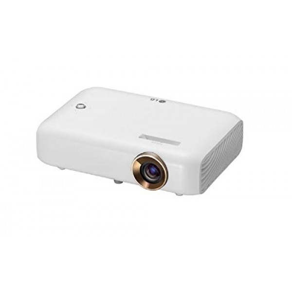 LG Beamer PH550G 최대 254cm (100 인치) CineBeam LED HD 프로젝터 (550 루멘 무선 화면 공유 기능) 흰색, 단일상품