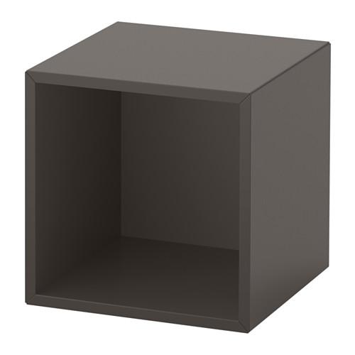 이케아 에케트 책장 수납장 다크그레이 303.345.92, 단일상품