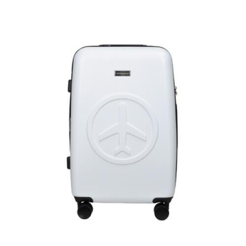 아트박스/비아모노 비아모노 AGS9094 24인치 수화물용 오프화이트 캐리어 여행가방