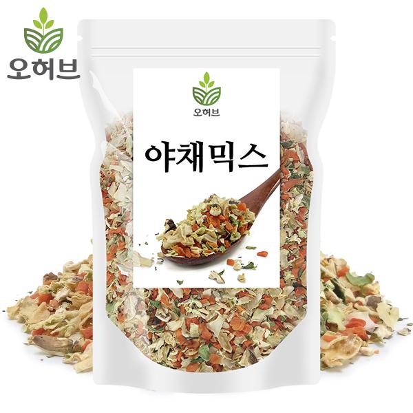오허브 건조야채 야채믹스 건더기스프, 1개, 200g