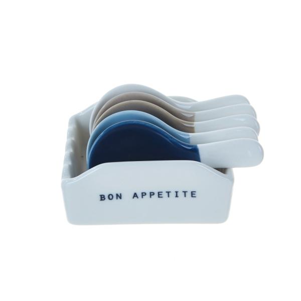 모던하우스 BON APPETITE 수저받침 6P세트 CA4519007, 1개, 사진참조