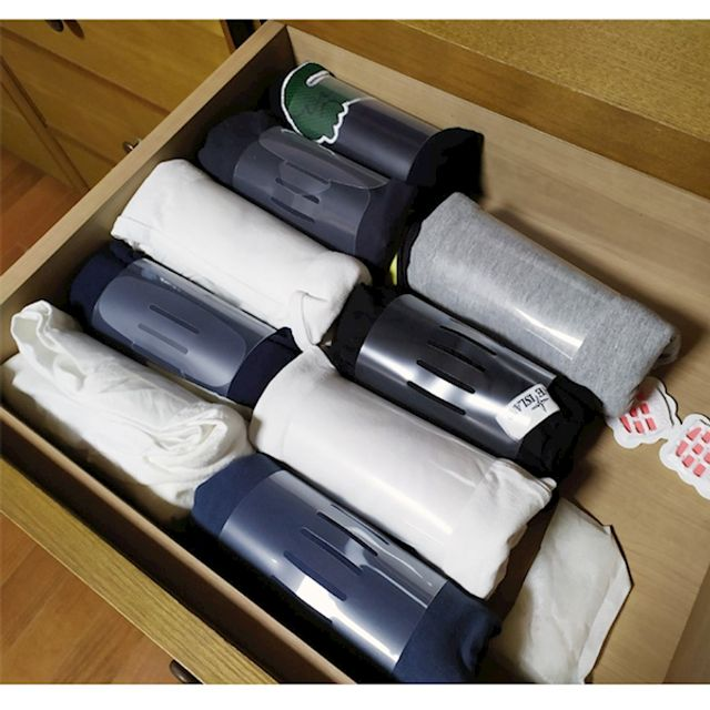 옷정리트레이 옷정리함 옷장정리 티셔츠 10P, 매직스토어 쿠팡 본상품선택