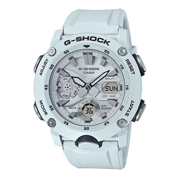 지샥정품/G-Shock/GA-2000S-7ADR/지샥시계/손목시계/탄소코어가드/이중LED