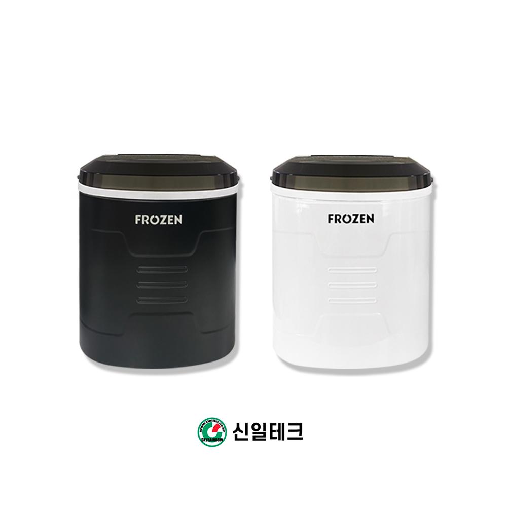 신일테크 가정용 미니제빙기 15KG 생산 아이스메이커, 블랙 (POP 1736770022)