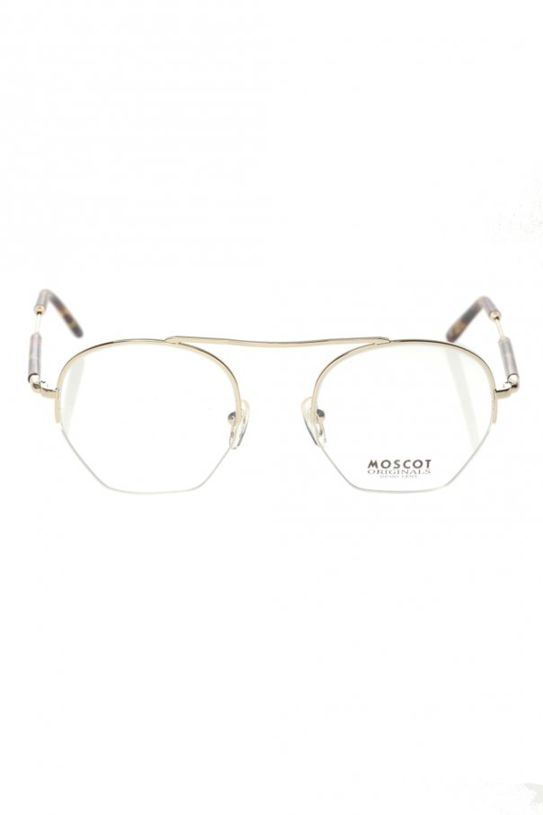 Moscot 'Punim' optical glasses PUNIM SUN 0-0720-15 GOLD SPOT TORTOISE 150불 이상 주문시 부가세 별도