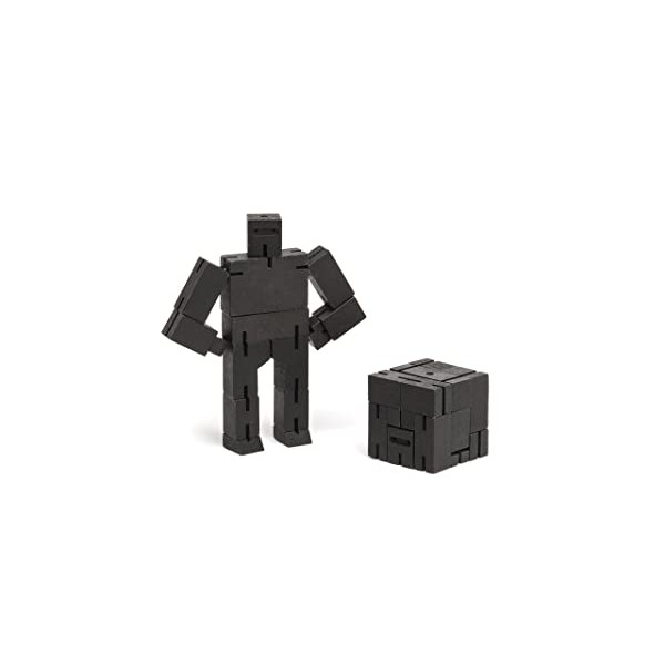 Cubebot Ninjabot Micro - Black by Areaware, Color = Black