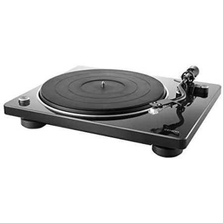 Denon DP-400 Semi-Automatic Analog Turntable with Speed Auto Sensor Specially Designed Curved Tone, One Color_DP-400, 상세 설명 참조0
