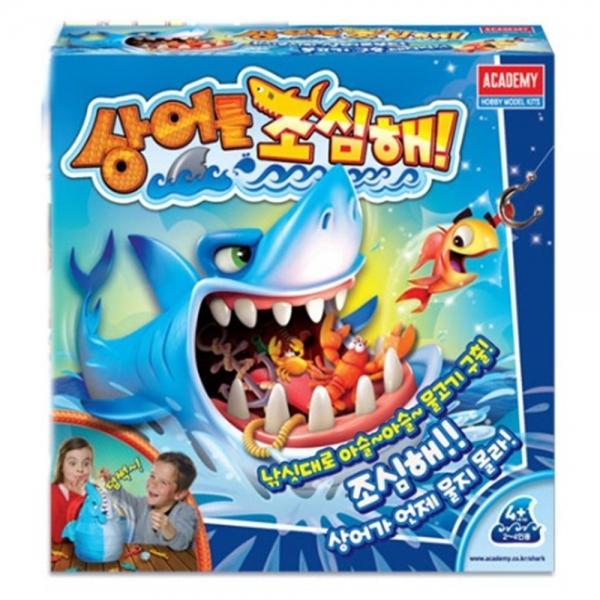 AKA608943[보드게임] 상어를 조심해! 아카데미과학 인형 복불복게임