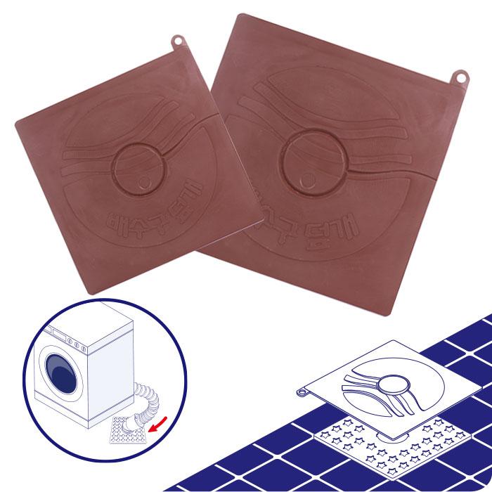 하니 배수구 사각덮개 대 세탁기 배수구덮개 하수구덮개, 단일상품