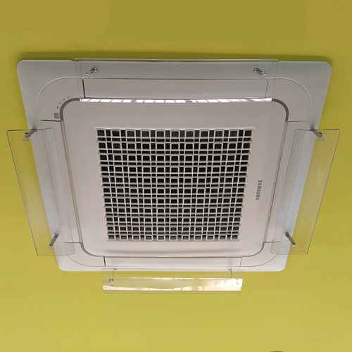 [국산정품] 천장형 시스템 에어컨바람막이 4way LG 삼성 공용, 01. 4way (1세트 4개)