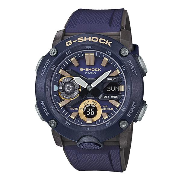 지샥정품/G-Shock/GA-2000-2ADR/지샥시계/손목시계/탄소코어가드/이중LED