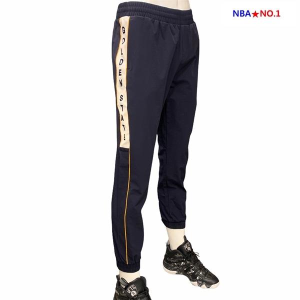 NBA NC10 GSW 컬러블럭 우븐 조거 팬츠 N201PT302P