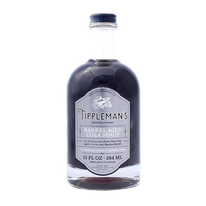 해외구매 Tippleman의 배럴당 콜라 시럽 모든 천연 복합 시럽 칵테일 및 비 알콜 음료 13 온스, 수량, 상세참조